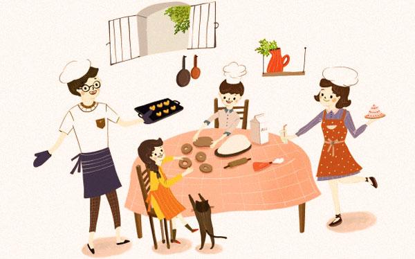 Imparare a mangiare in famiglia parte 1