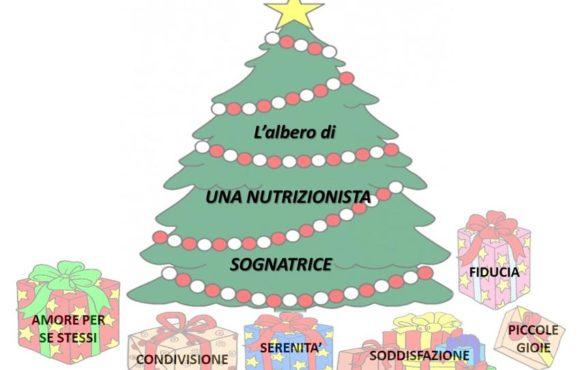 """""""L'albero di Natale di una nutrizionista sognatrice"""""""