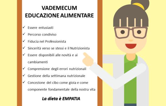 Vademecum dell'educazione alimentare
